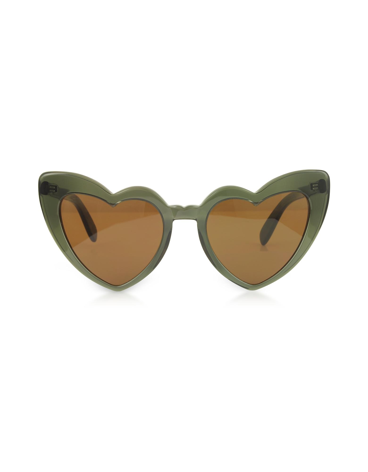 SL 181 Louluo Heart Acetate Women's Sunglasses