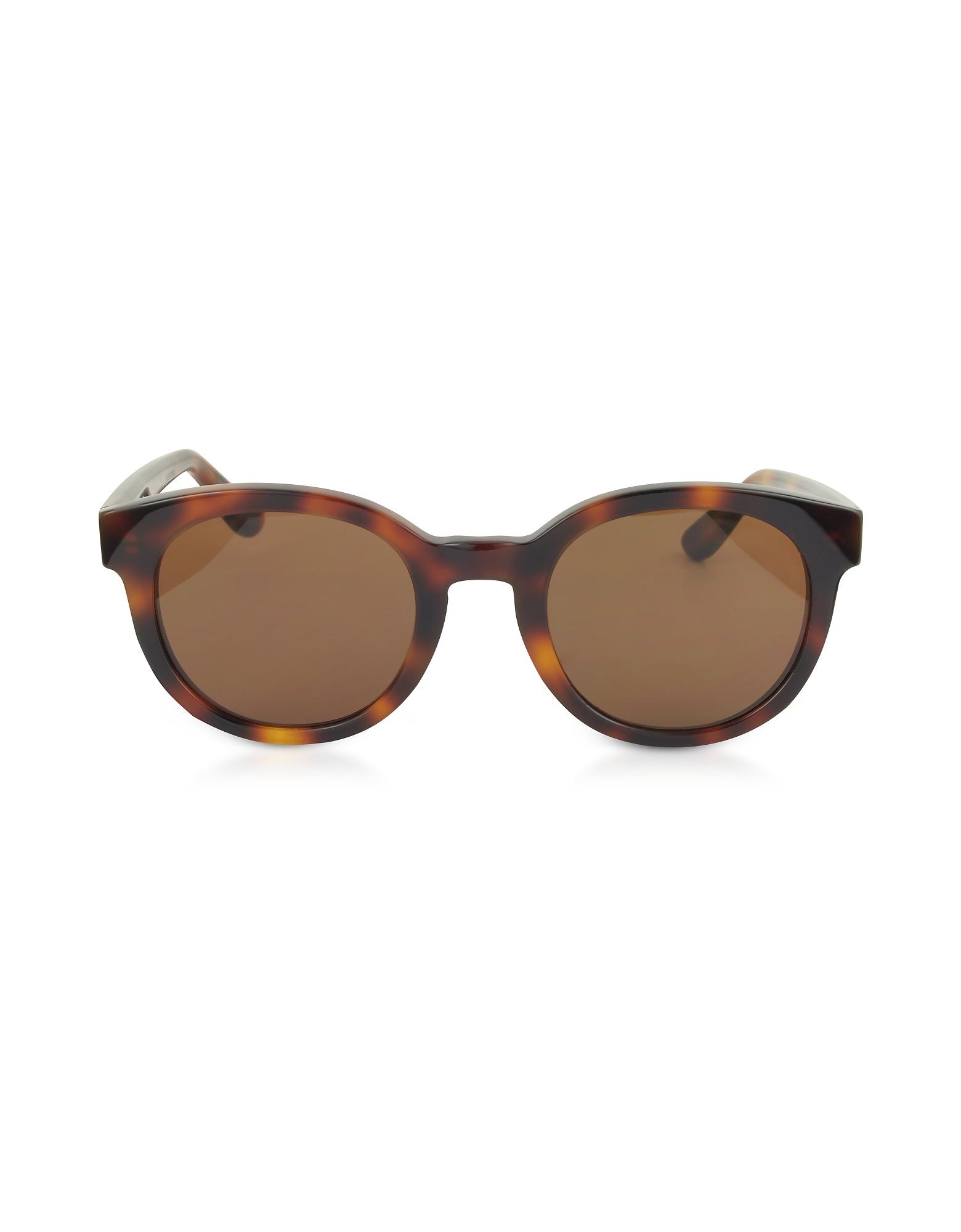 SL M15 Round Frame Acetate Sunglasses