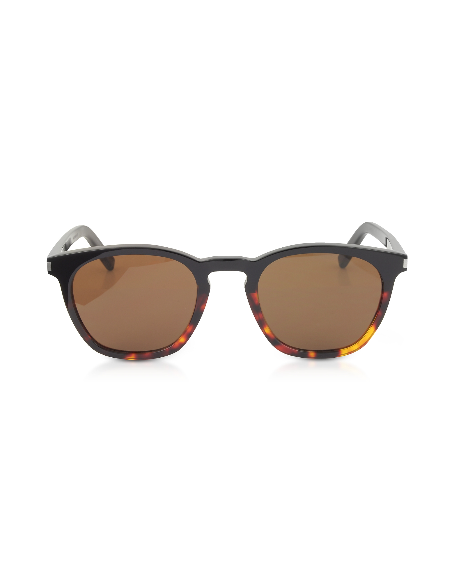 Saint Laurent Sunglasses, SL 28 Two-Tone Acetate Frame Sunglasses