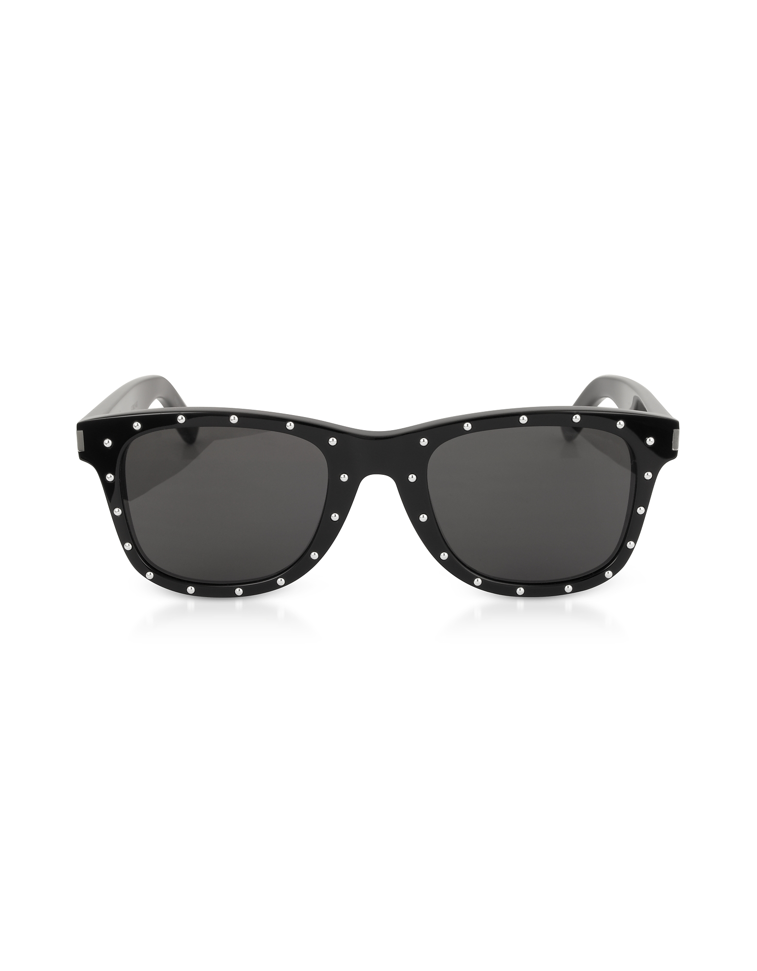 Saint Laurent Designer Sunglasses, SL 51-029 Black Studded Acetate Women's Sunglasses