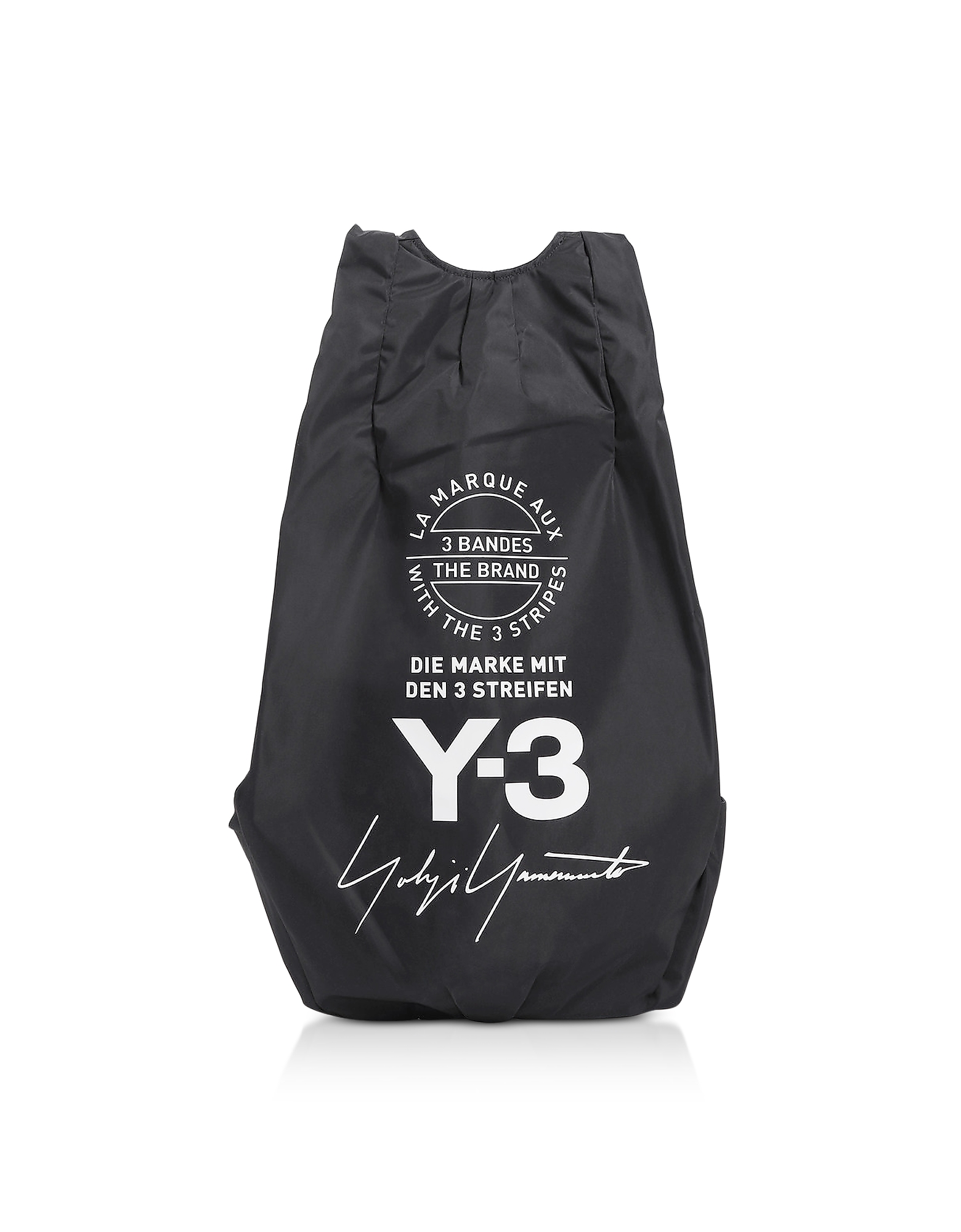 Y-3 Backpacks, Black Y-3 Yohji Backpack