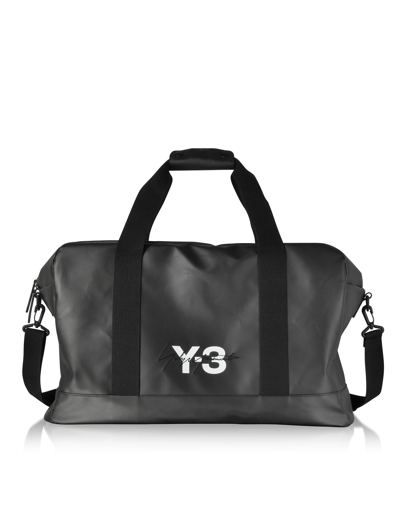 Black Signature Weekender Bag