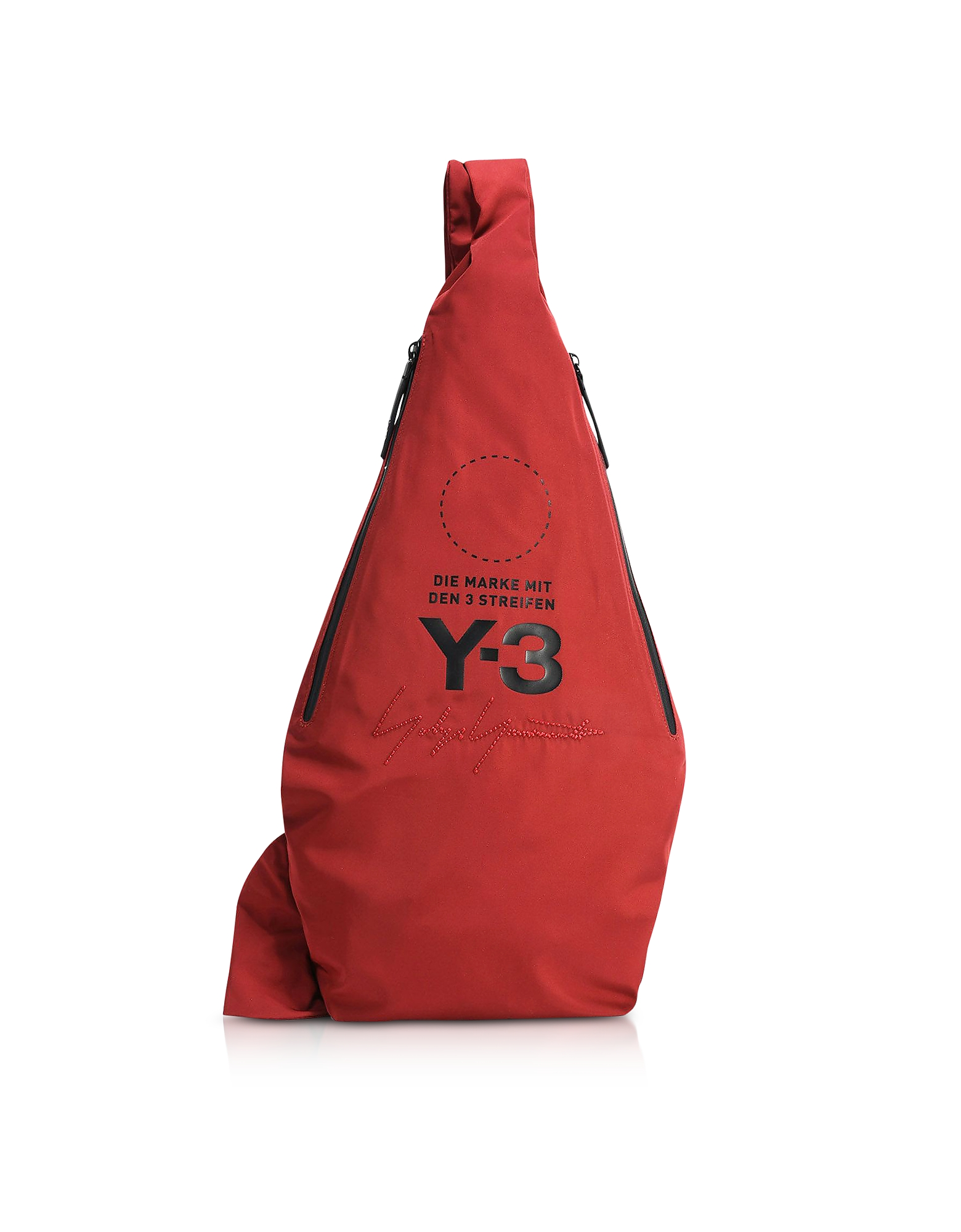 Y-3 Backpacks, Red Yohji Messenger
