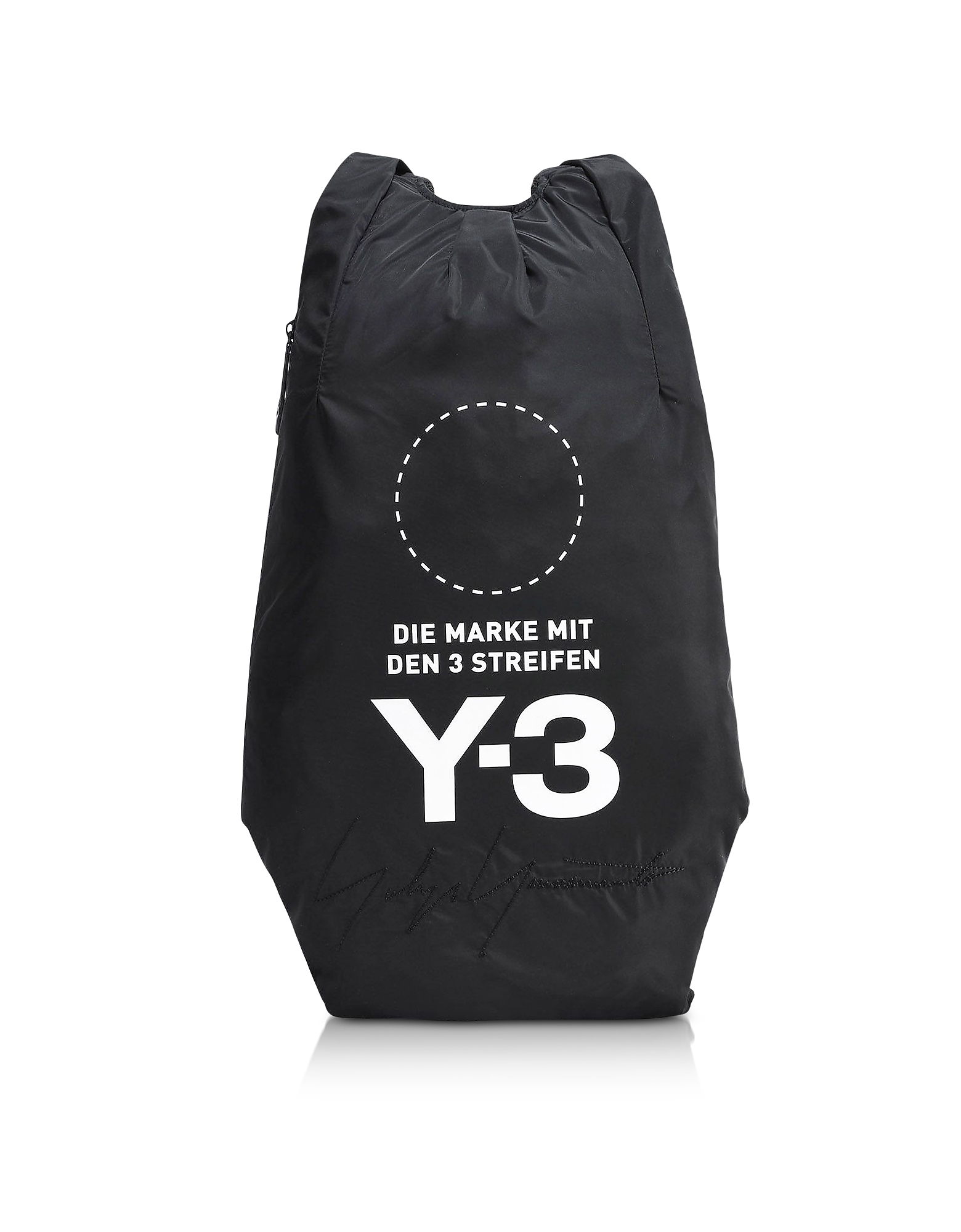 Y-3 Backpacks, Black Yohji Backpack