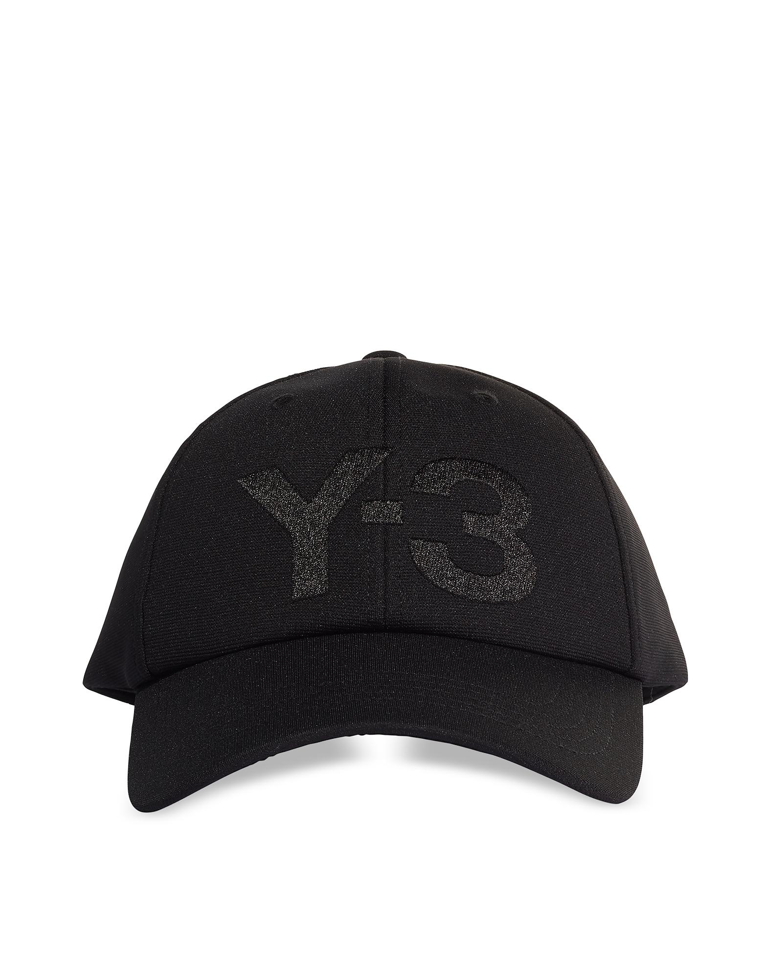 Black Y-3 Logo Cap