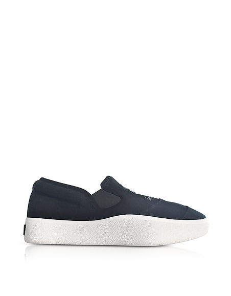 Y-3 Black and White Y-3 Tangutsu Slip-on Sneakers