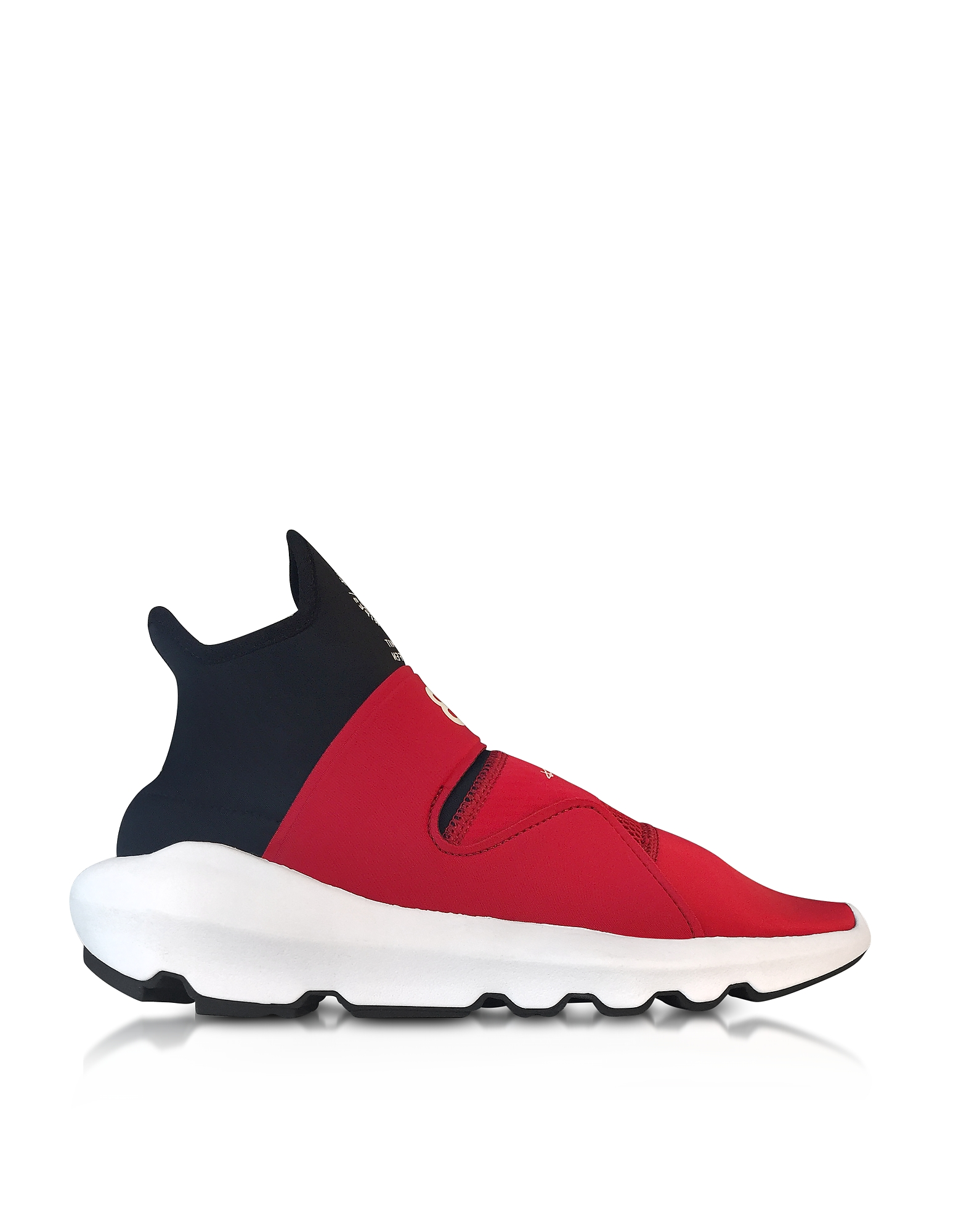 Y-3 Shoes, Chili red Y-3 Suberou Slip on Sneakers