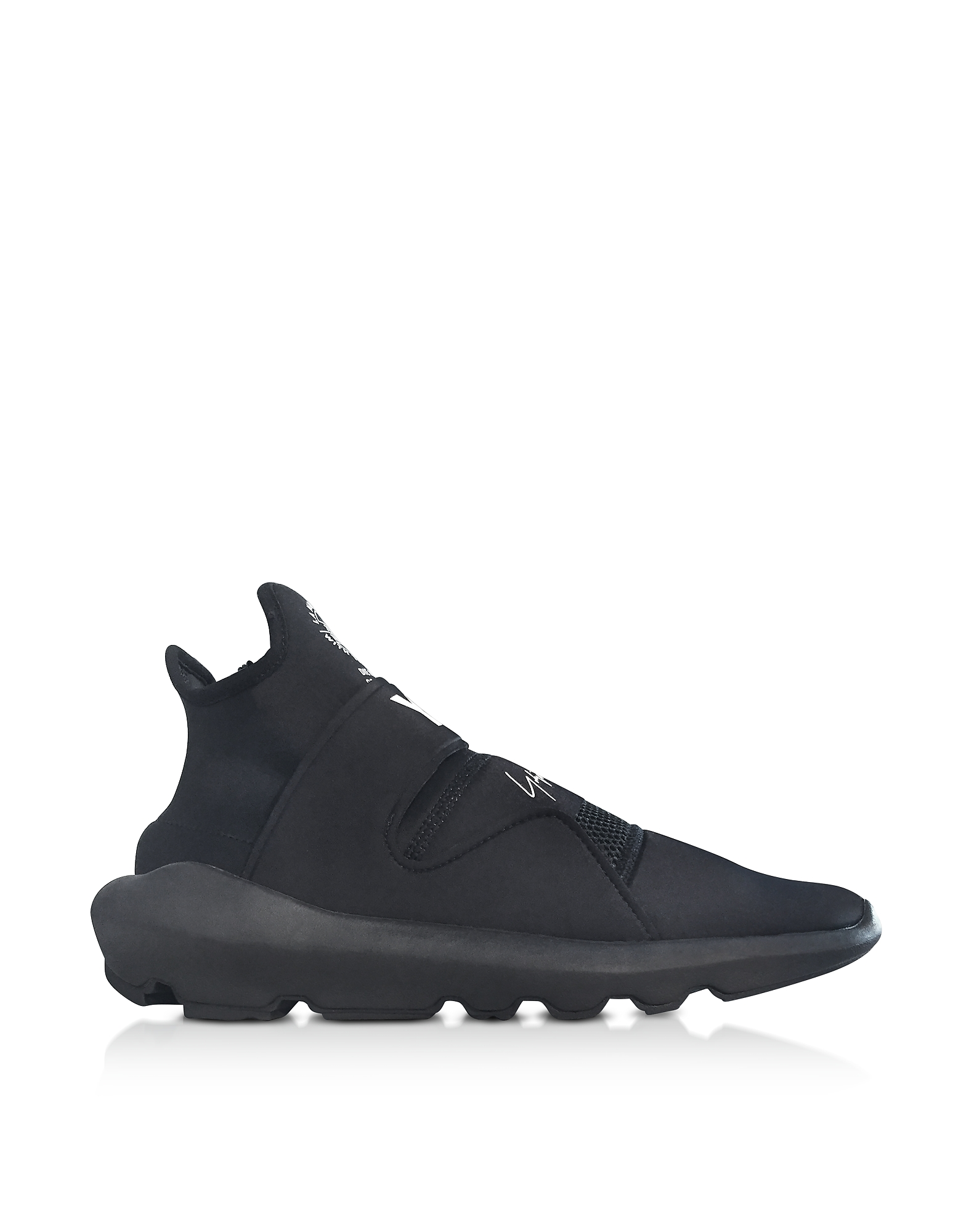 Y-3 Shoes, Black Y-3 Suberou Slip on Sneakers