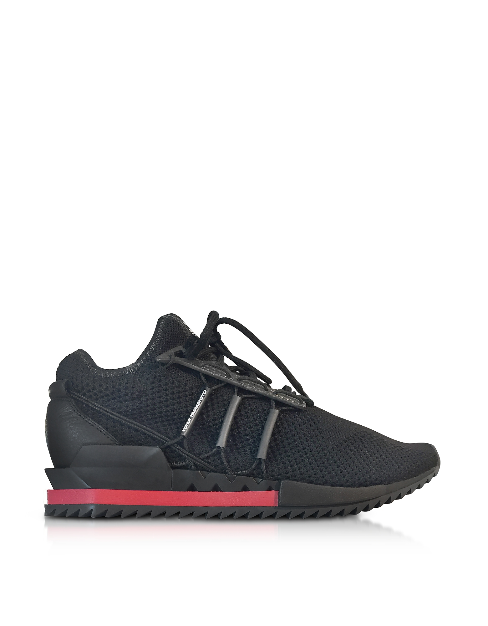 Y-3 Shoes, Black Y-3 Harigane Sneakers