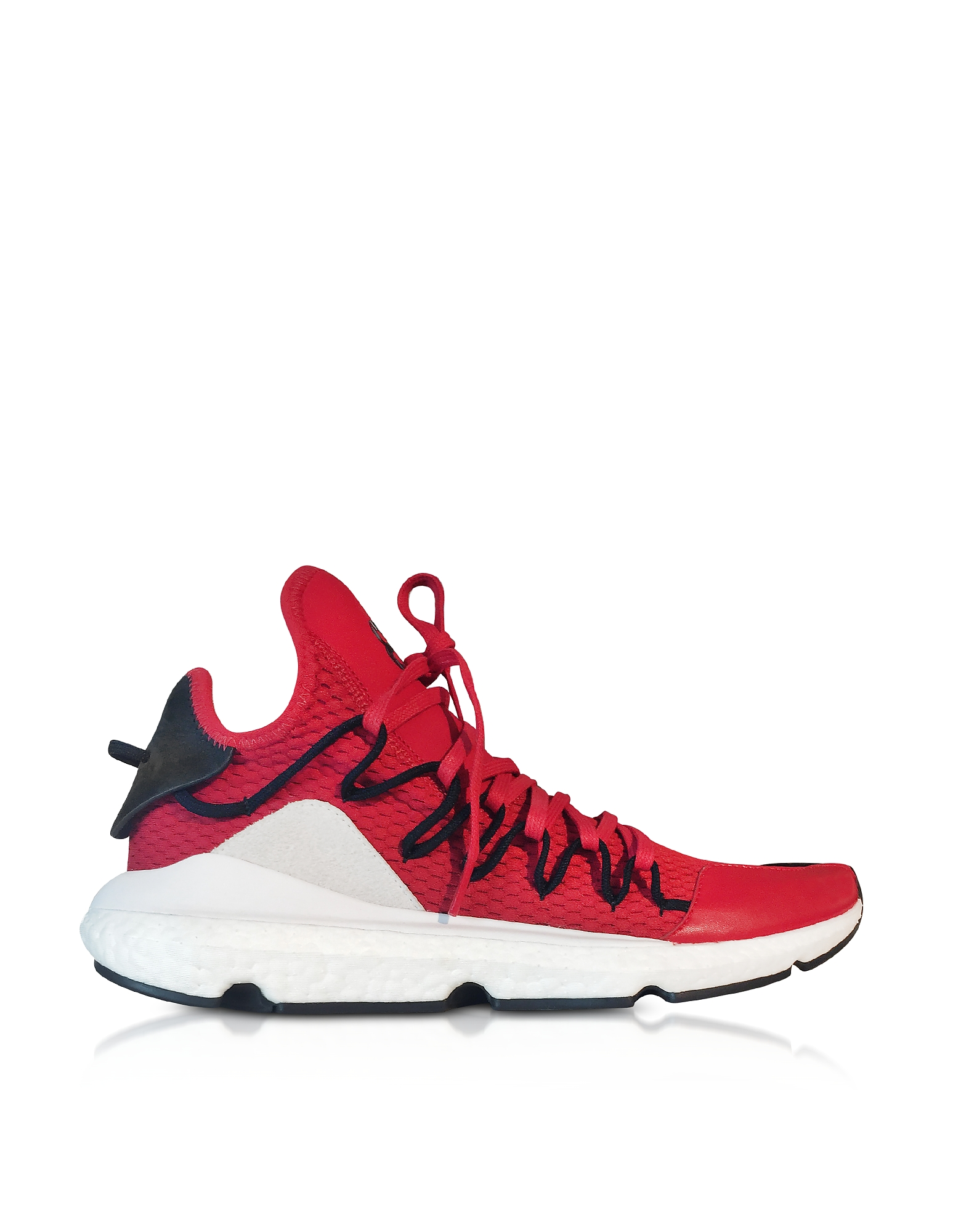 Y-3 Shoes, Chilli Pepper Y-3 Kusari Sneakers
