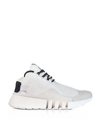 White Nylon Y-3 Ayero Sneakers yy860118-013-06
