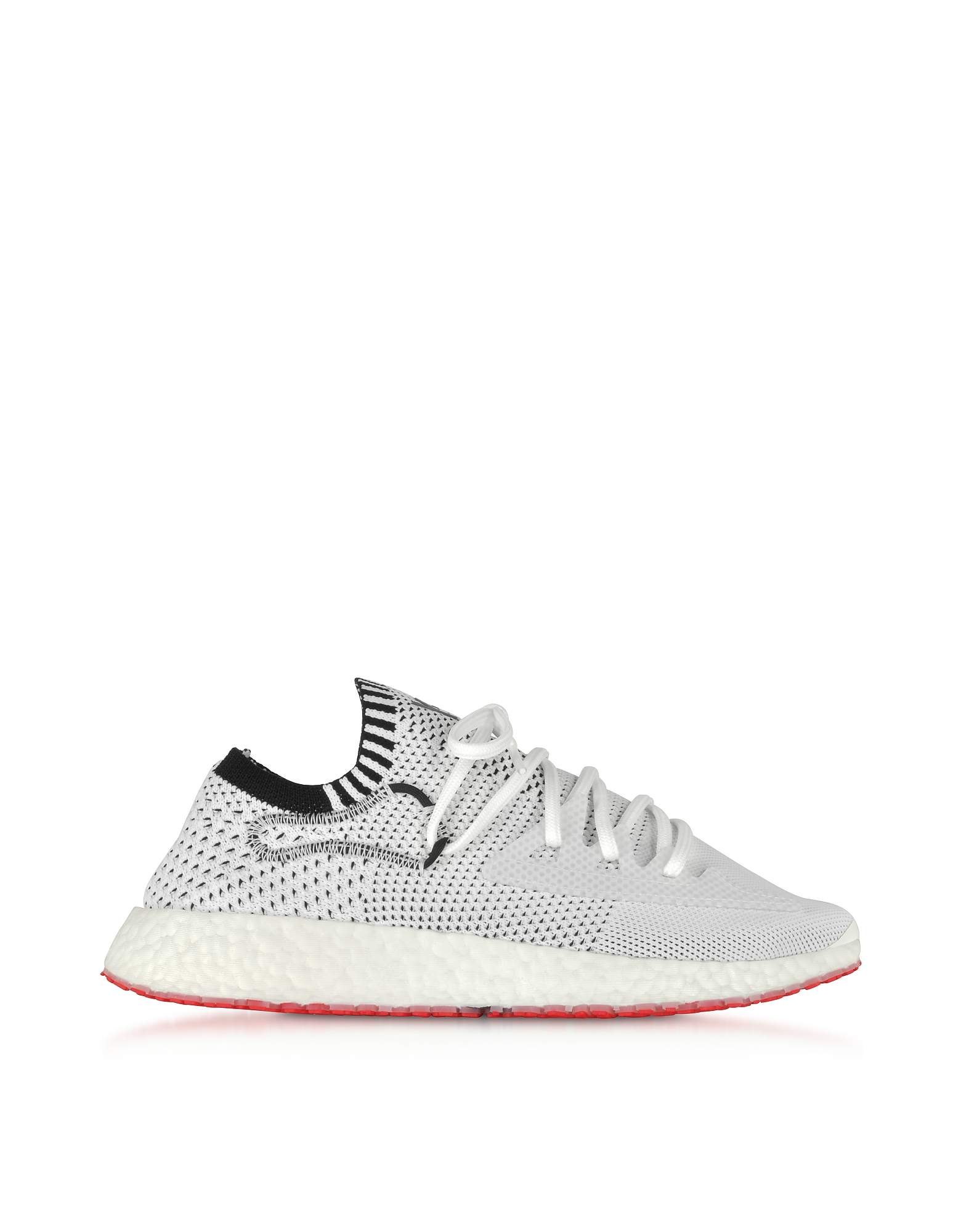 Y-3 Shoes, White Y3 Ratio Racer