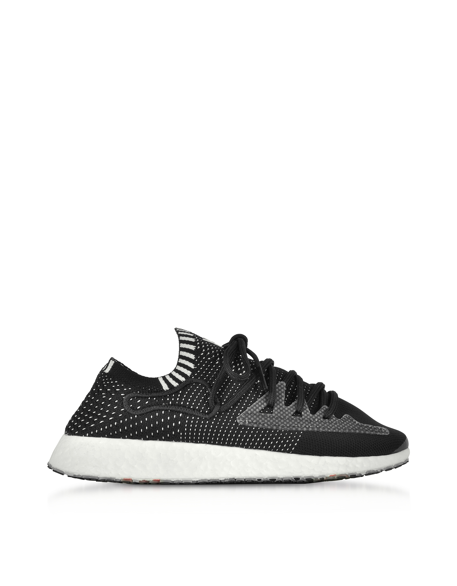 Y3 Ratio Racer - Sneakers Basses Homme en Nylon Noir. Y3 Ratio Racer - Sneakers Basses Homme en Nylon Noir