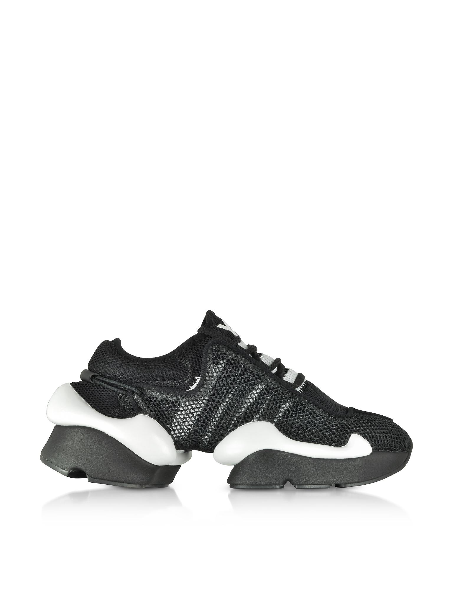 Y-3 Black Raito Racer Sneakers