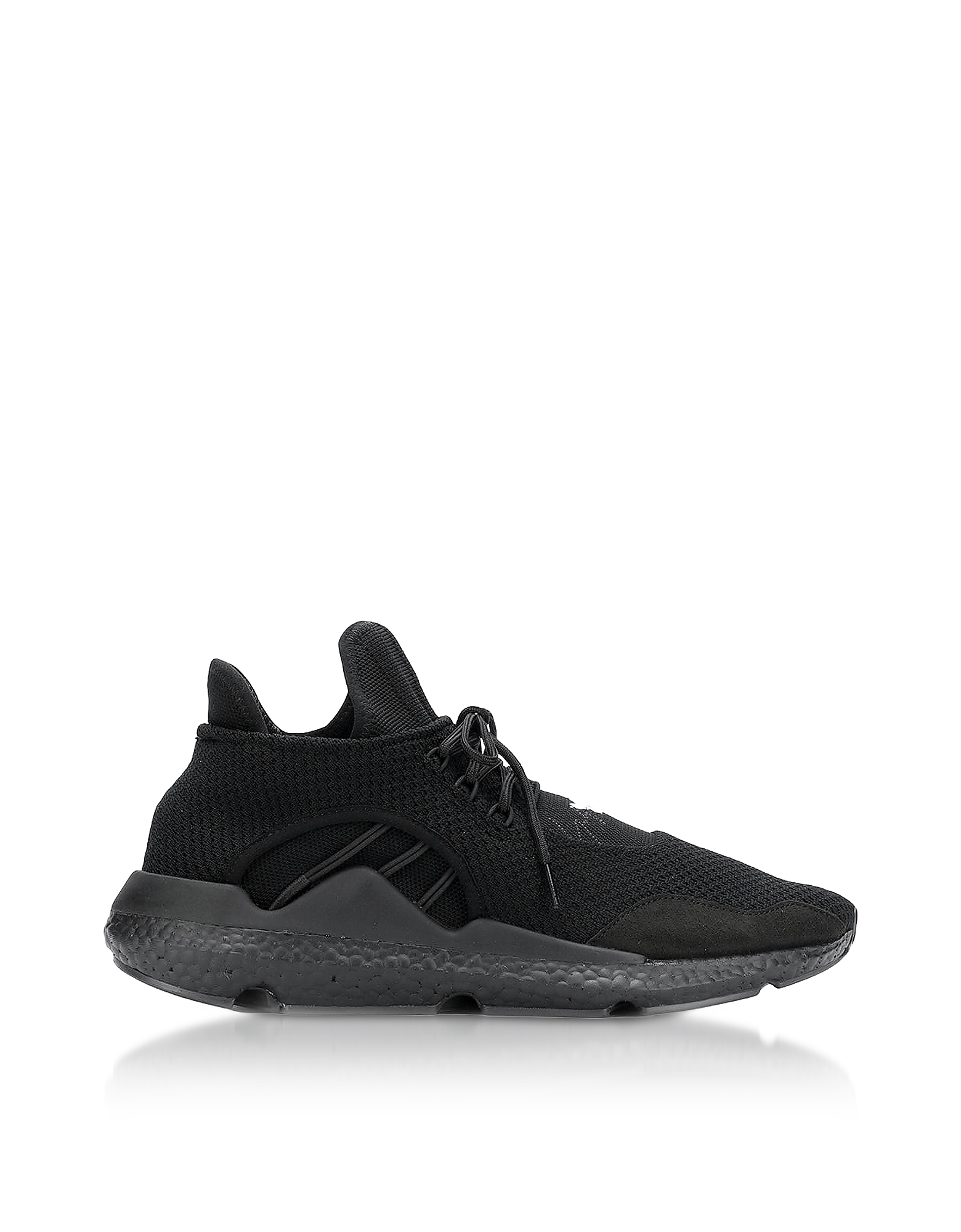 Y-3 Shoes, Black Saikou Men's Sneakers