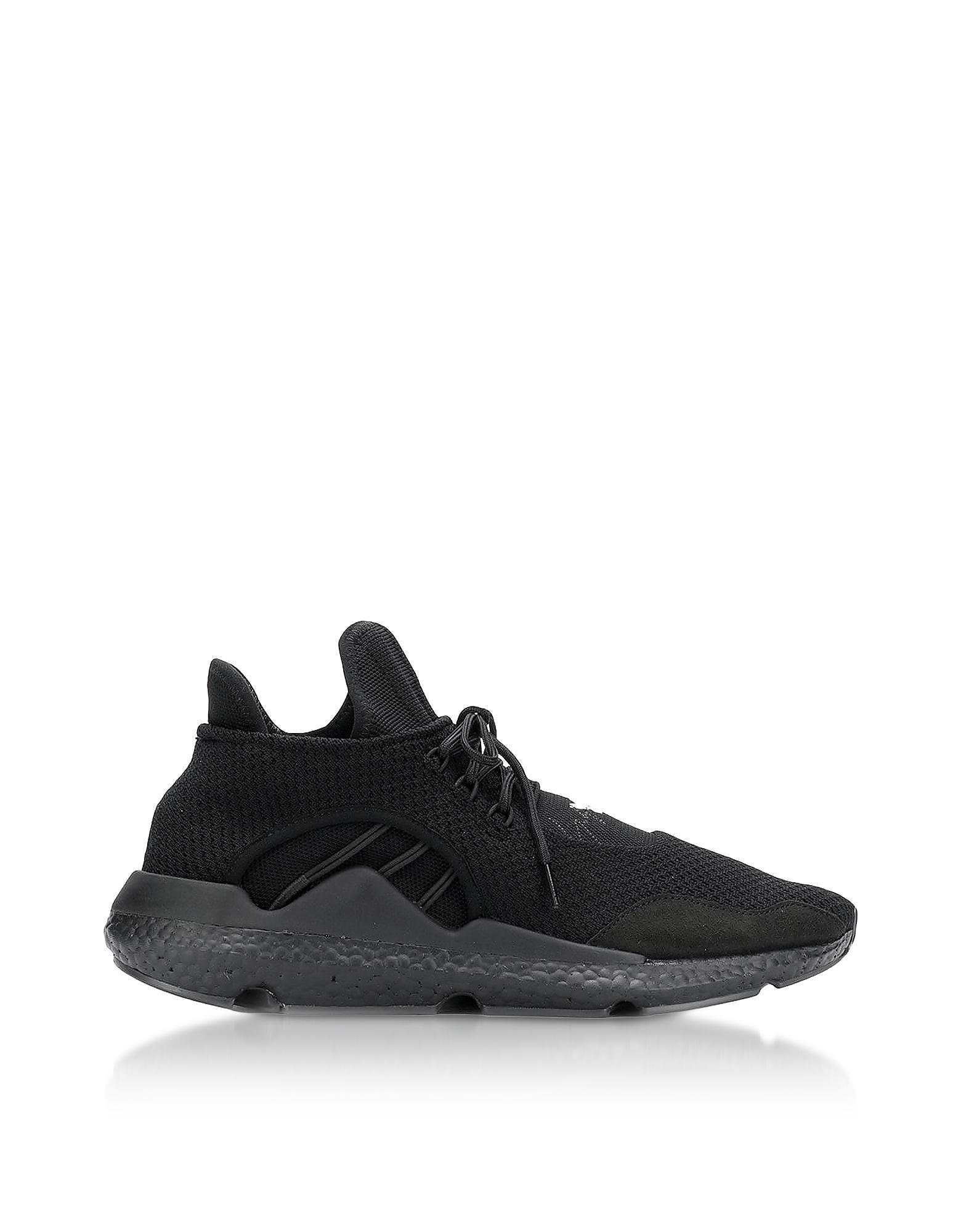 Y-3 | Y-3 Designer Shoes, Black Sayku Men's Sneakers | Goxip