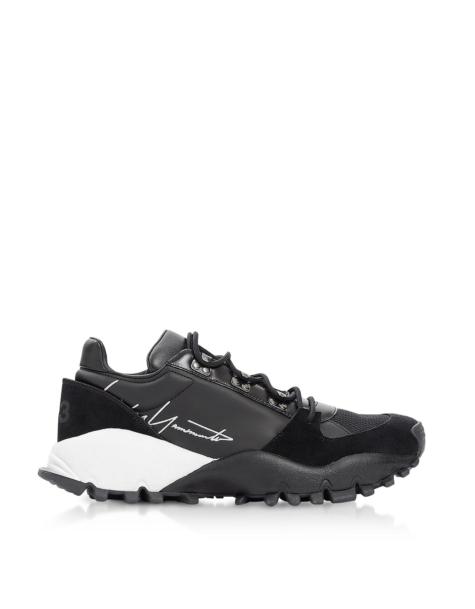 Y-3 Black Kyoi Trail Sneakers