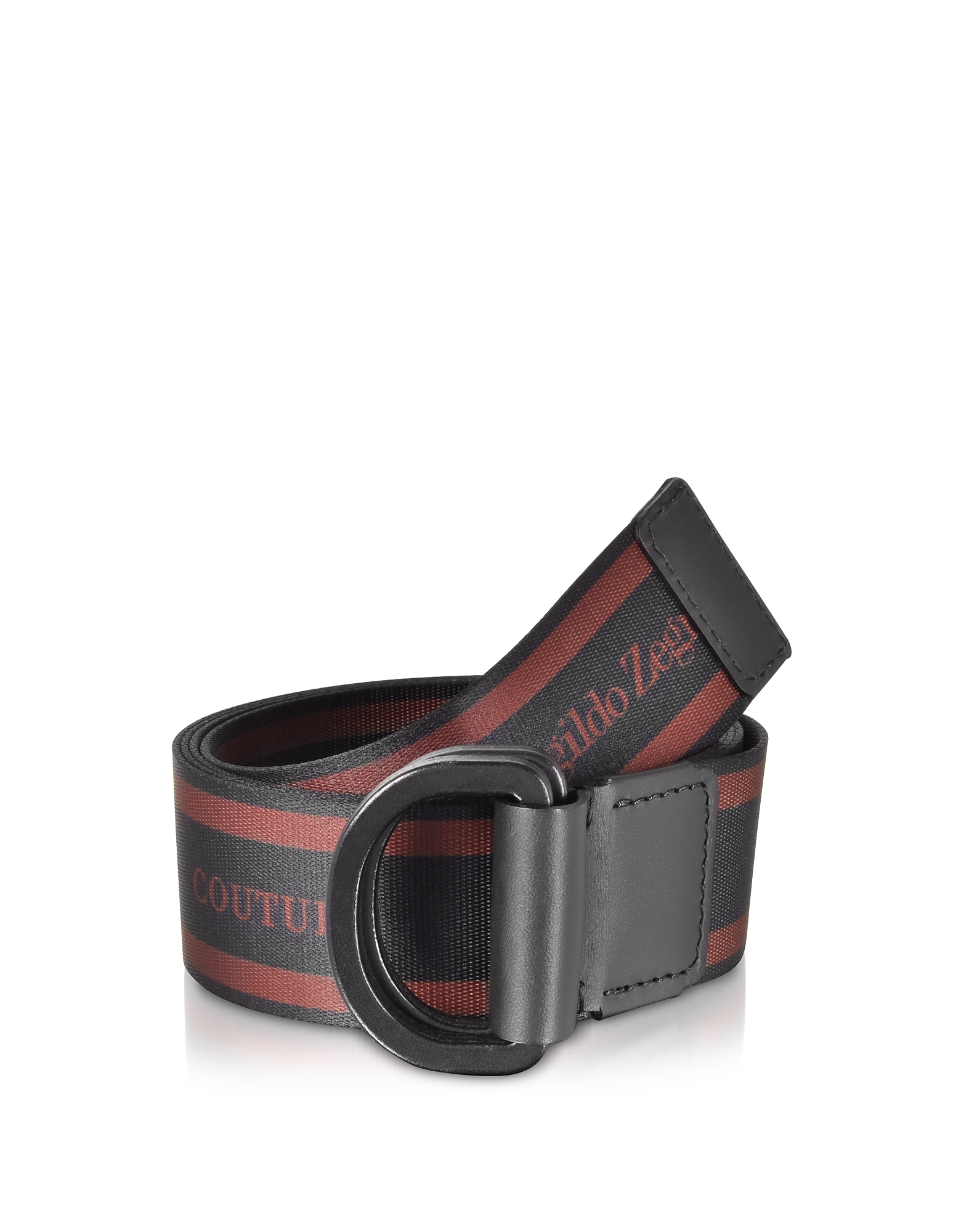 Signature Stripe Canvas Men's Belt