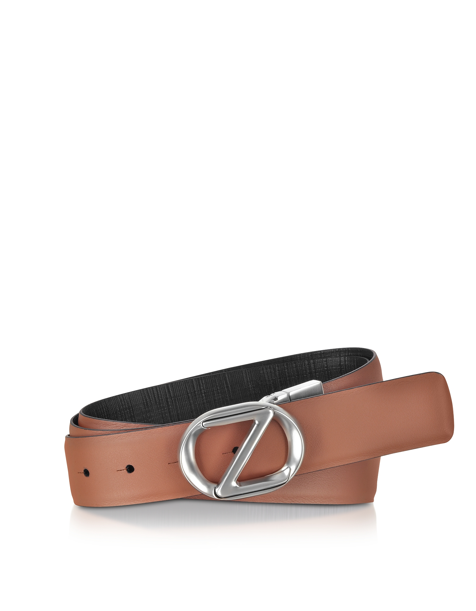 Leather Adjustable and Reversible Men's Belt