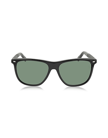 Ermenegildo Zegna - EZ0009 01N Black Polarized Men's Sunglasses