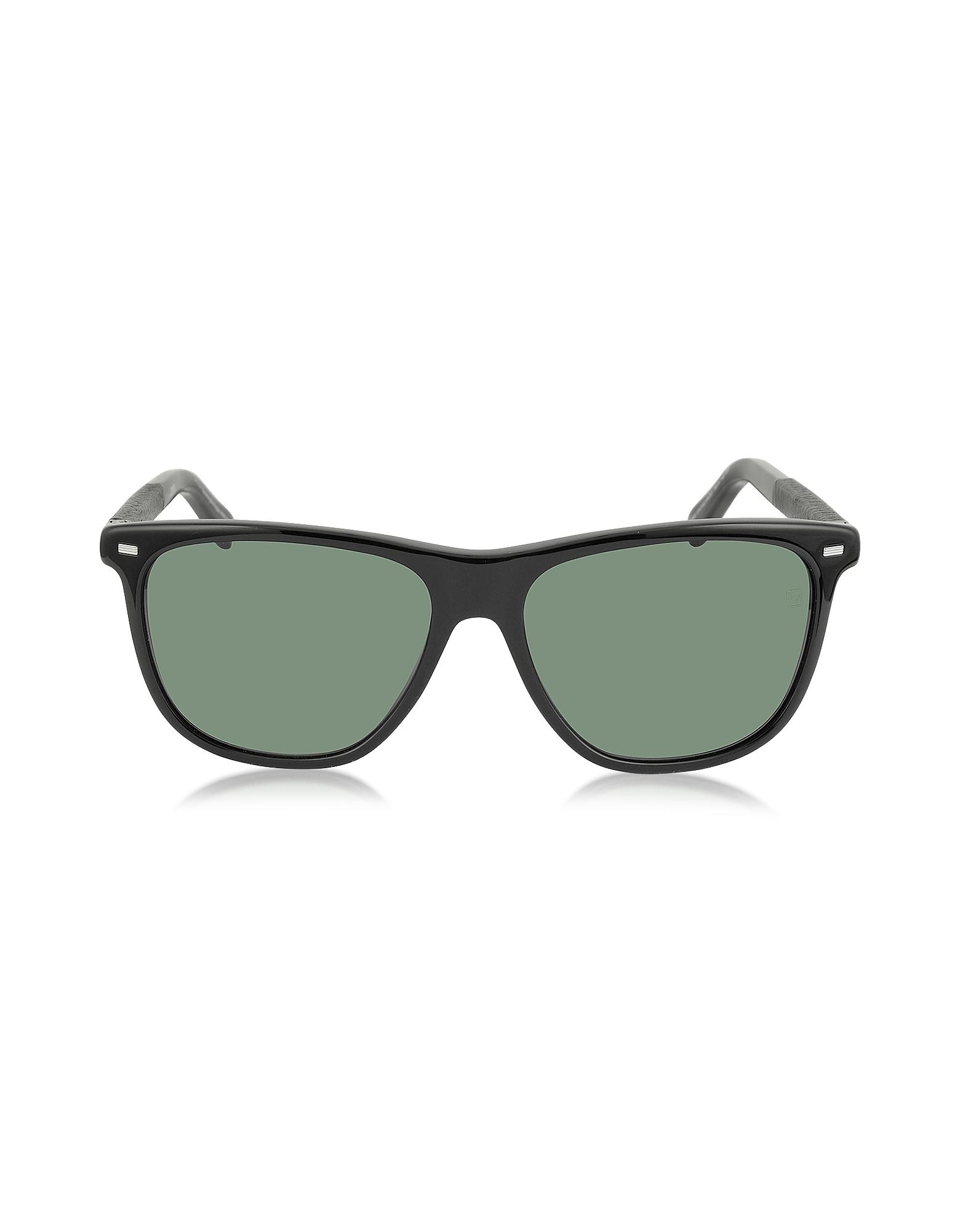 EZ0009 01N - Черные Мужские Поляризованные Солнечные Очки