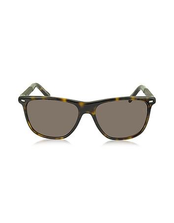 Ermenegildo Zegna - EZ0009 52J Havana Acetate Men's Sunglasses