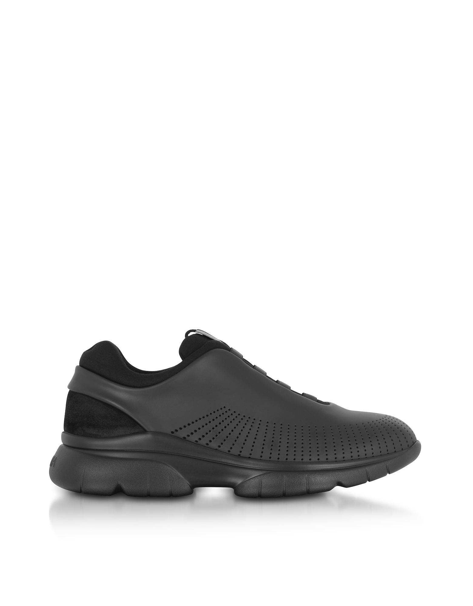 Black Sprinter 2.0 Leather & Suede Sneakers