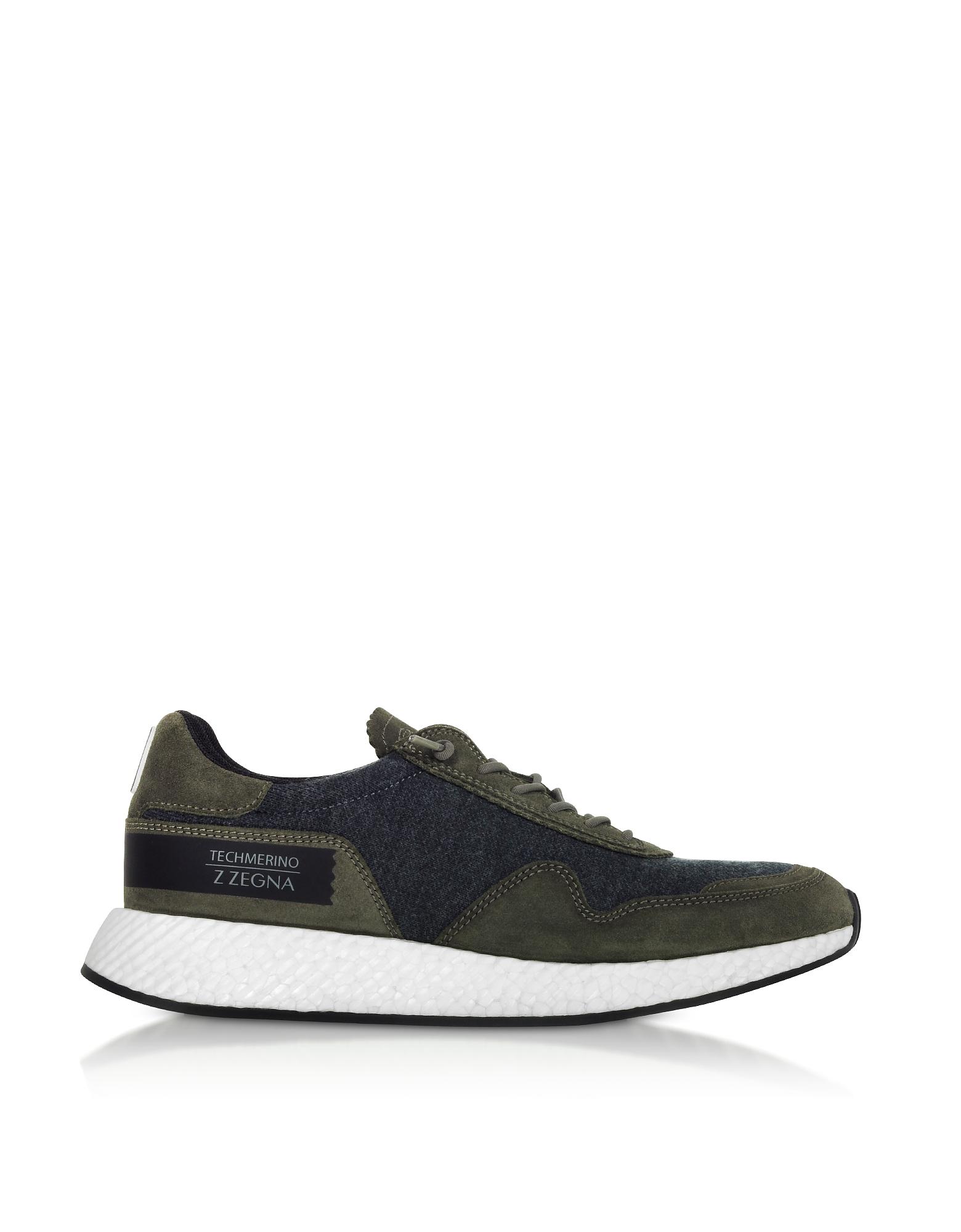 Techmerino Low-Top Sneakers