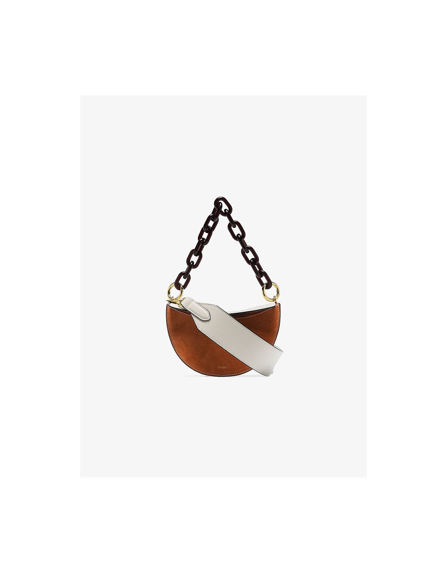 Yuzefi Designer Handbags, Multicoloured Doris Shoulder Bag