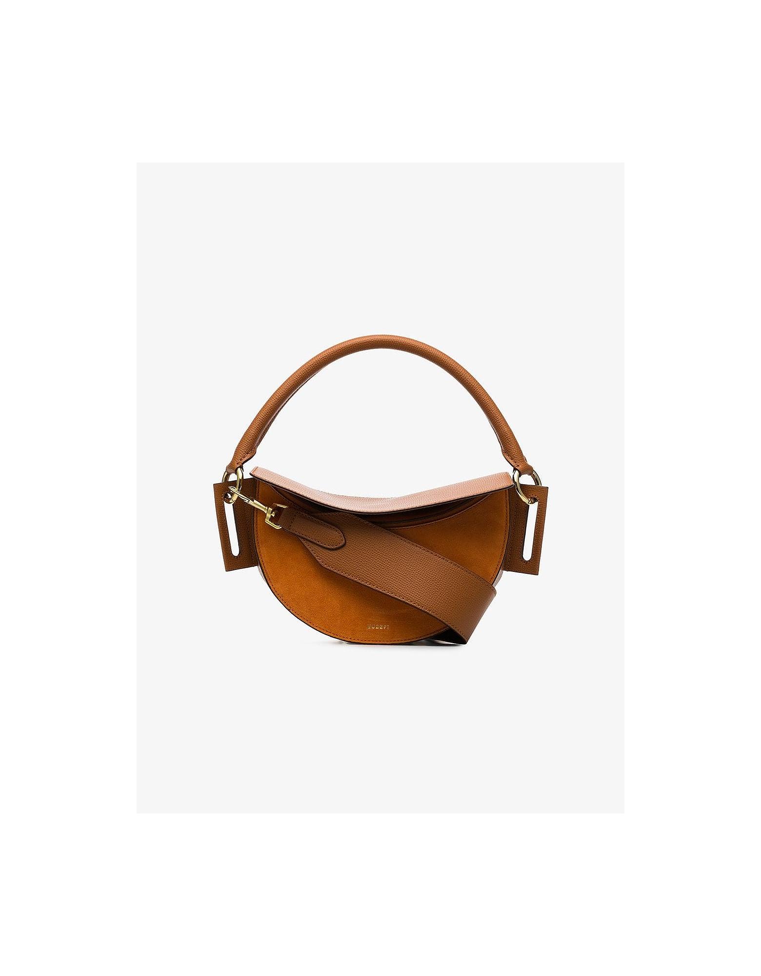 Yuzefi Designer Handbags, Dip Leather Shoulder Bag