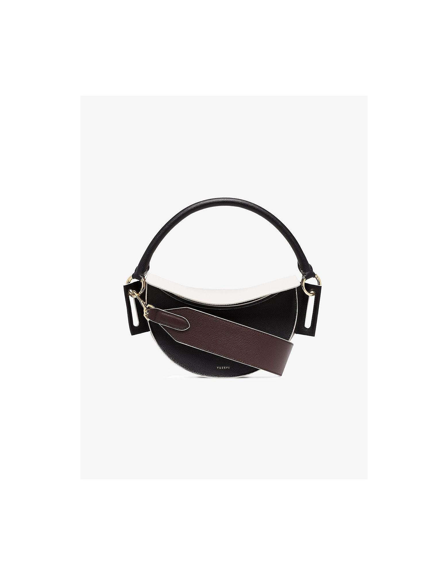 Yuzefi Designer Handbags, Multicoloured Dip Leather Shoulder Bag