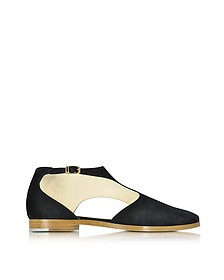 Triumph Black Suede Shoe - Zoe Lee