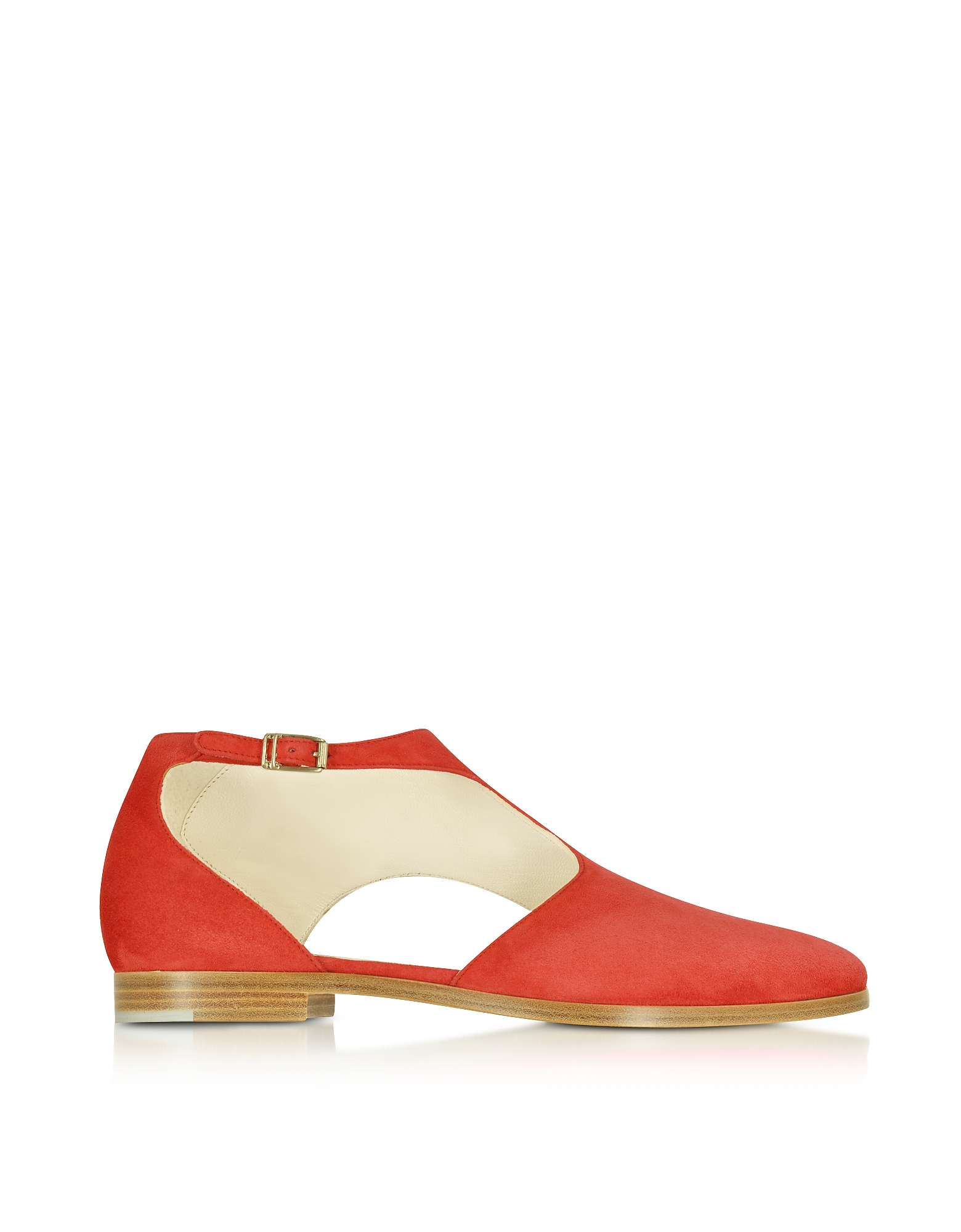 Triumph - Красные Замшевые Туфли