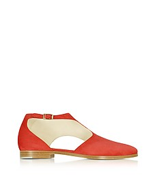 Triumph Red Suede Shoe - Zoe Lee