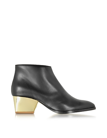 Eastwood Black Leather Ankle Boot