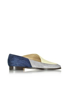Clarence Color Block Leather and Suede - Zoe Lee