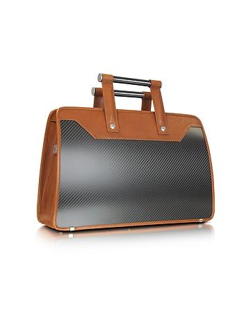 Carbon Business Vintage - Carbon Fiber Briefcase