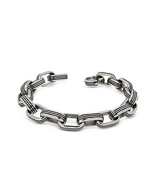 Zo-Chain Stainless Steel Oval Link Bracelet - Zoppini