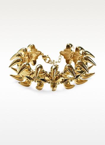 Animal Bones Golden Collar Necklace - Giuseppe Zanotti