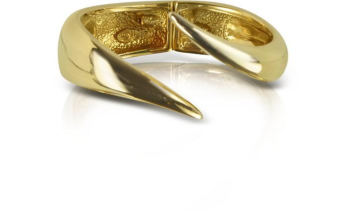 Brass Cuff Bracelet - Giuseppe Zanotti
