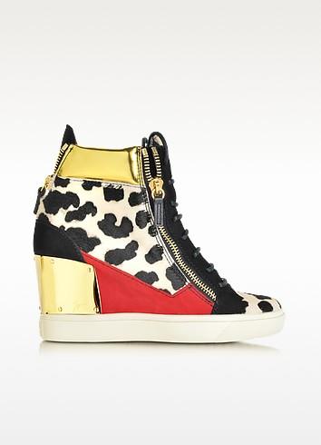 Lorenz Animal Print Sneakers - Giuseppe Zanotti