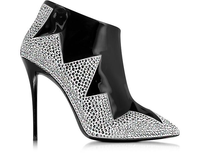 Black Patent Leather Bootie - Giuseppe Zanotti