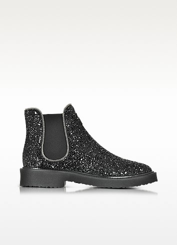 Giuseppe Zanotti Черные Блестящие Ботинки