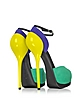 Color Block Patent Leather & Suede Platform Sandal - Giuseppe Zanotti