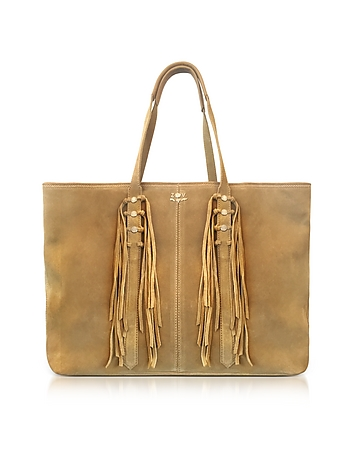 Zadig & Voltaire - Mick Suede Fringed Tote Bag