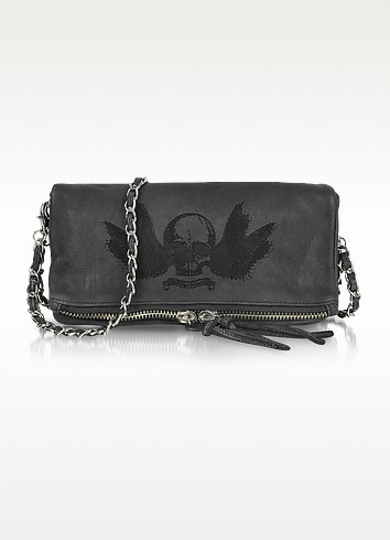 Rock Deep Dye Leather Clutch - Zadig & Voltaire