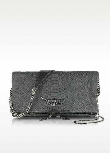 Rock Cobra Clutch/Shoulder Bag - Zadig & Voltaire