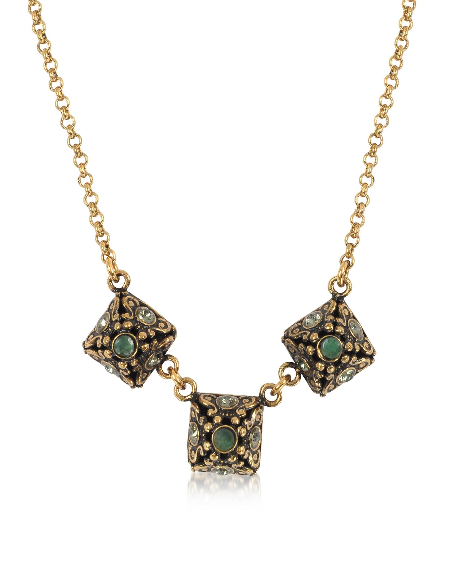 Forzieri coupon: Alcozer & J  Necklaces Pyramid Necklace w/Semi Precious Stones