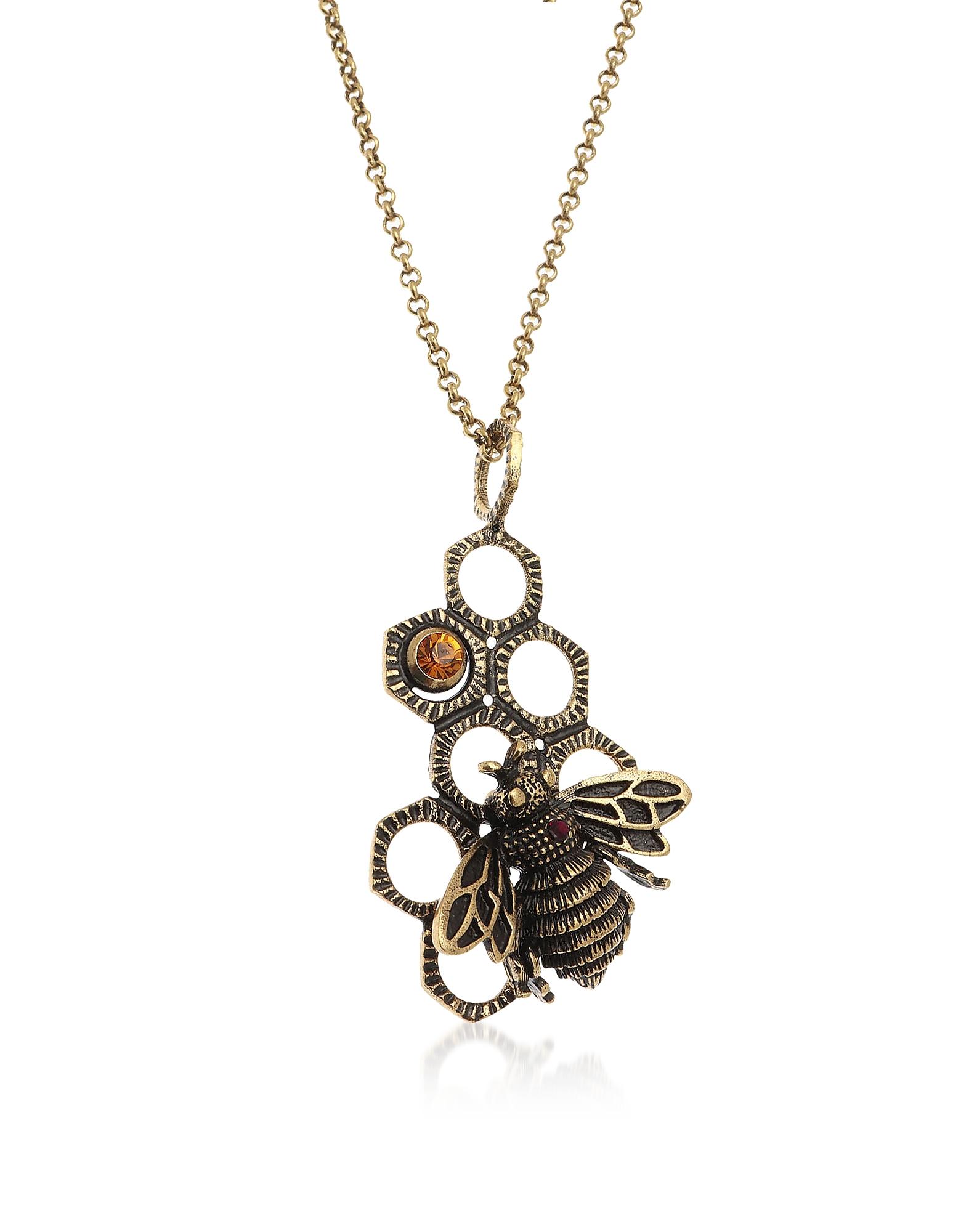 Forzieri coupon: Alcozer & J  Necklaces Golden Brass Honey Necklace