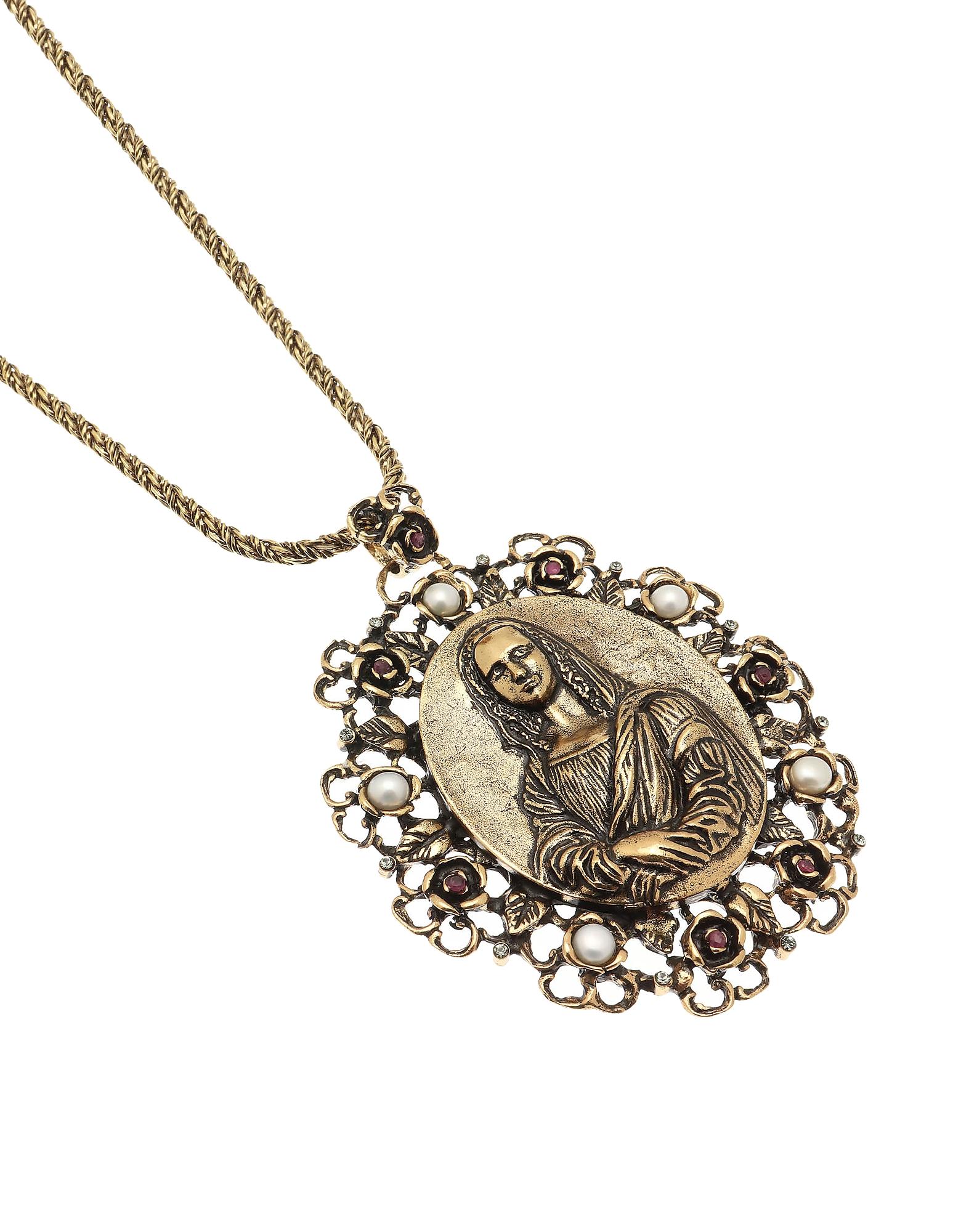 Forzieri coupon: Alcozer & J  Necklaces Golden Brass Gioconda Necklace